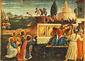 Angelico, predella dei santi cosma e damiano da pala di san marco, salvataggio.jpg