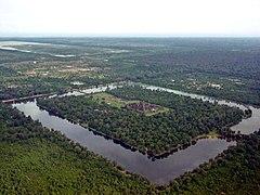 <center> Recinto de Angkor Wat <span>1 km&#xB2;</span>. </center>