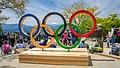 Anillos Olímpicos en la Cima del Monte Takao (51146112701).jpg