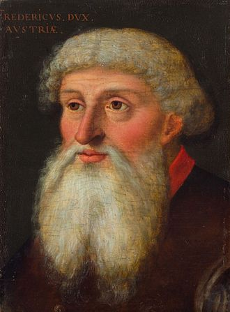 Frederick IV, Duke of Austria - Fredericus dux Austriae, 16th century portrait by an unknown artist
