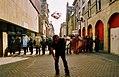 Anti-G8 crazy Italian attacks, Edinburgh MMV.jpg