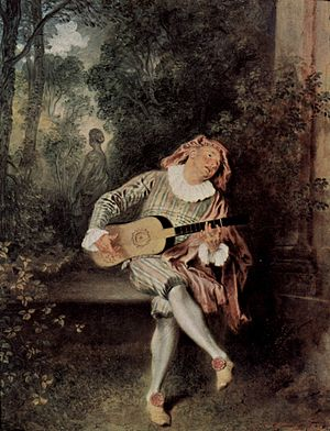 Soviet sale of Hermitage paintings - The Lute Player by Antoine Watteau, was purchased for the Hermitage by Catherine the Great in 1767. It was sold in May 1930 to Calouste Gulbenkian, who sold it in 1934 to the Metropolitan Museum in New York.