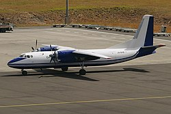 Antonov An-24RV der Daallo Airlines