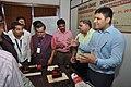 Anupam Vasin And Vivek Vasin Showing PASCO Products At Demonstration Session - Capacity Building Workshop On Innovation Hub - NCSM - Kolkata 2018-03-20 9005.JPG