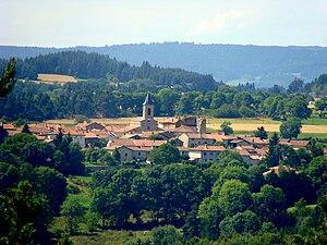 Apinac - A general view of Apinac