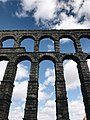 Aqueduct of Segovia and Clouds.jpg