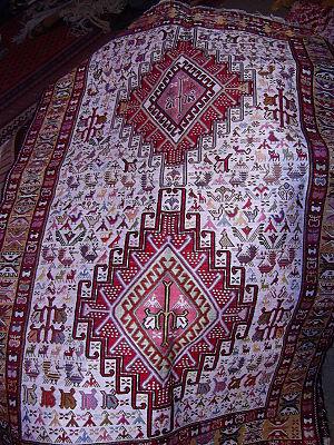 "Ardabil - An Ardabil ""glim"" (Ardabil rug)"