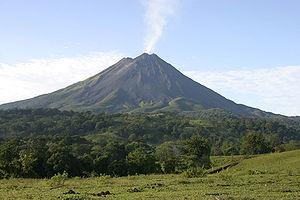Cordillera de Guanacaste - Arenal volcano