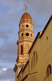 arezzo chiesa della badia campanile