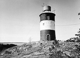 Arholma - Lighthouse on Arholma. Photo of 1966