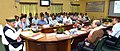 Arjun Ram Meghwal interacting with the officials of Brahmaputra Board regarding the activities of Board, in Guwahati (1).JPG