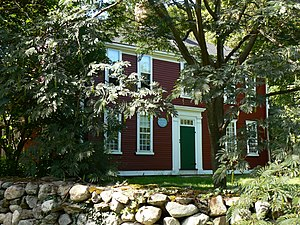 Fowle-Reed-Wyman House - Photo of the house, 2008