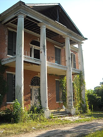 National Register of Historic Places listings in Adams County, Mississippi - Image: Arlington in Ruins