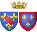 Arms of Marie Anne de Bourbon as Princess of Condé.png