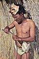 Arri Raats, Kalahari Khomani San Bushman, Boesmansrus camp, Northern Cape, South Africa (20532040752).jpg