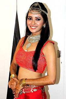 Asha Negi at 13th Indian Telly Awards 2014.jpg