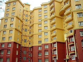 Garia - Ashabari Housing Complex in Baishnabghata Patuli Township