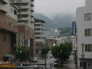 Ashiya, Hyōgo - Ashiya seen from Ashiya Station