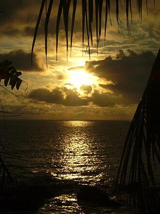 Quepos - Sunset at Quepos.
