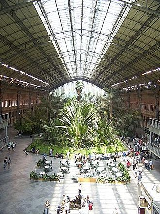 Alberto Palacio - Atocha station, Madrid