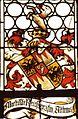 Attems Wappen in einem Fenster der Stiftskirche zu Millstatt Millstatt.jpg