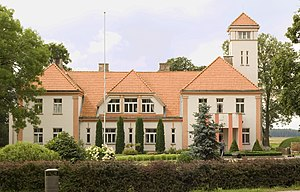 Ozolnieki Municipality - Image: Auču pilsmuiža