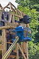 Aufbau der restaurierten Alten Mühle im Hermann-Löns-Park (Hannover) IMG 9306.jpg