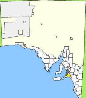 Lage des alexandrina council in south australia