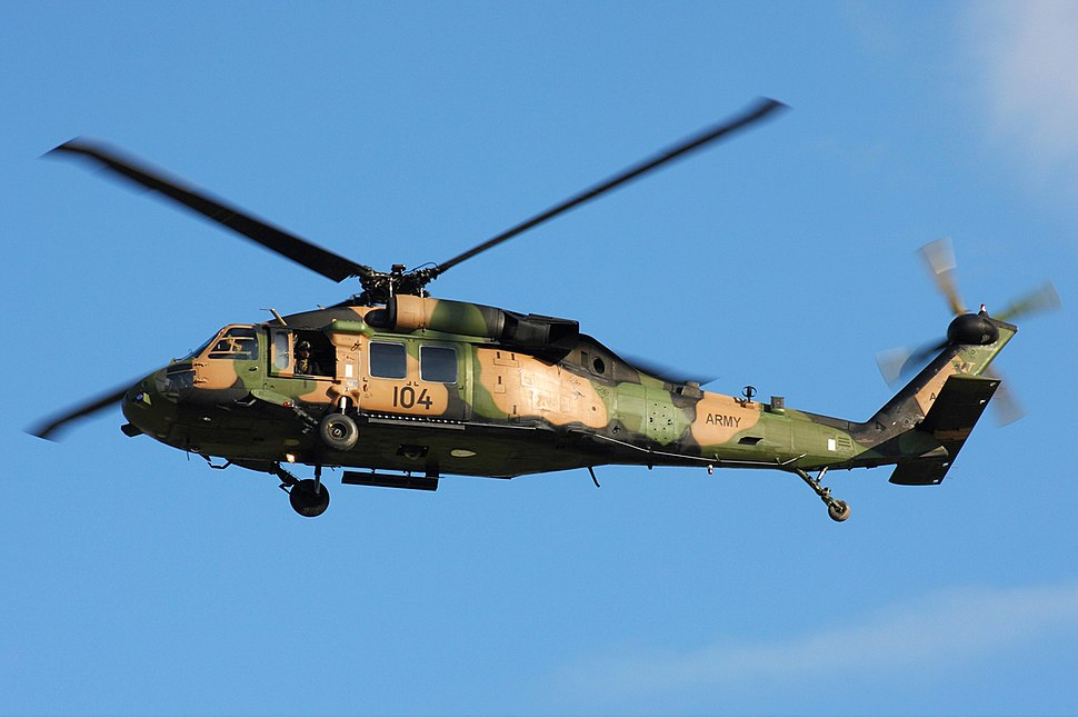 Australian Army Black Hawk Zhu-2