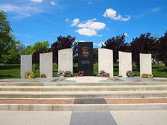 Australian Merchant Navy Memorial - The Australian Merchant Navy Memorial in November 2012