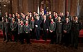 Austria Athletes supported by Bundesheer Winter Olympics 2014 Heinz Fischer Gerald Klug.jpg