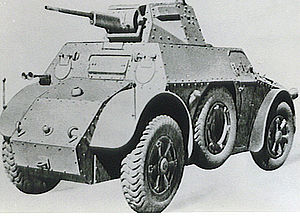 Autoblinda Fiat-Ansaldo - An Autoblinda 41
