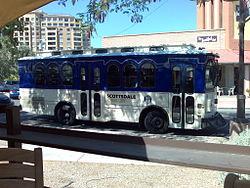 Autocarro em Scottsdale