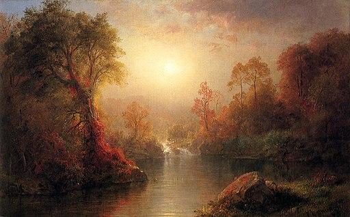 Autumn (1875) Frederic Edwin Church