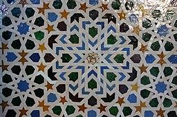 Azulejos in Mexuar Hall - Alhambra (2)