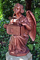 Bödeker-Engel auf dem Engesohder Friedhof in Hannover, 2003 restauriert durch den Rotary Club Hannover-Leineschloss.jpg