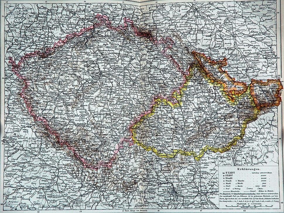 Böhmen Mähren Österreich Schlesien