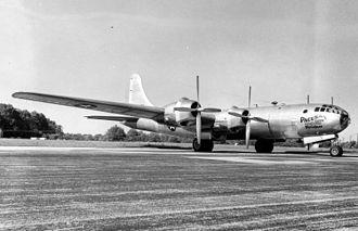 "315th Air Division - Bell-Atlanta B-29B-60-BA Superfortress ""Pacusan Dreamboat"" (44-84061)"