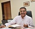 B. P. Acharya in Office.JPG