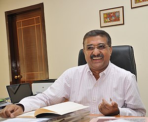 B. P. Acharya - Image: B. P. Acharya in Office