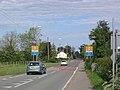 B4393 entering Llandrinio - geograph.org.uk - 1316827.jpg