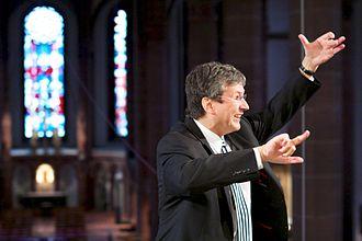 Gabriel Dessauer - Gabriel Dessauer conducting the Chor von St. Bonifatius, 2012