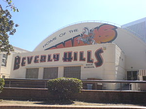 Beverly Hills High School Gymnasium. Beverly H...