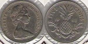 Bahamian dollar - Queen Elizabeth II