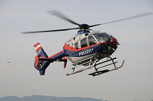 Air Police (Austria) - A Eurocopter EC135 operated by the Flugpolizei