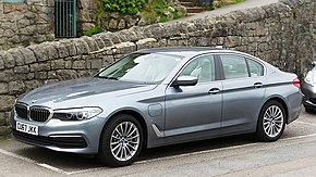 BMW 530e iPerformance registered September 2017 1998cc plus an electric motor.jpg