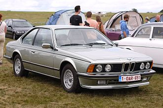 BMW 6 Series (E24) - 1984–86 BMW 635CSi