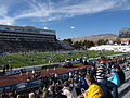 BYU Warm-ups, Mackay Stadium, University of Nevada, Reno, Nevada (11142007526).jpg