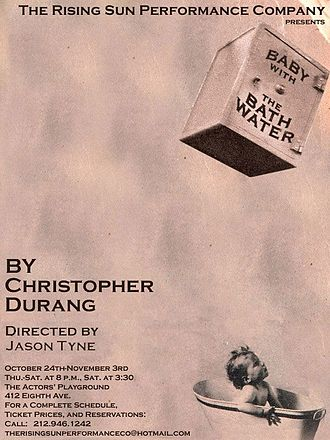Baby with the Bathwater - Poster for New York City production