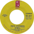 Back Stabbers by O'Jays US vinyl single Side-A.png
